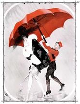 French Pinups: Tall & Small Girls w/Umbrella - Leonnec - 1913 - $12.82+