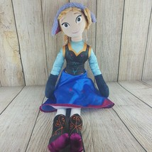 "Disney Frozen Princess Anna Jumbo Plush Doll 26"" by Jay Franco & Sons St... - $25.74"