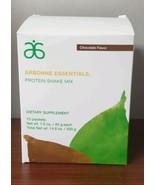 Arbonne Essentials Chocolate Protein Shake Dietary Supplement 10 packets - $35.43