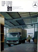 1967 MERCEDES  TRUCK LP-LPS 911  OWNERS SALES BROCHURE PARTS SERVICE - $34.99