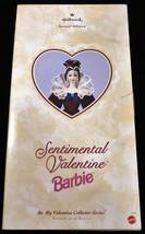 1996 Sentimental Valentine Barbie Hallmark Special Edition Mint in Package - $9.40