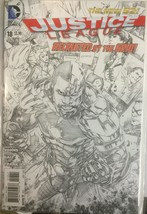 Justice League #18 Dc Comics 2011 Sketch Cover Variant - $53.89