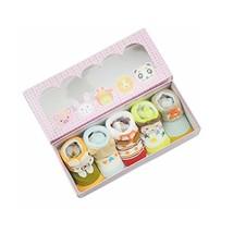 5 Pairs Cute Newborn Socks Gift Set for Baby Girl Baby Boy image 2