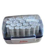 Sunbeam SureSetter 20 Hot Rollers Model SBPC70 Hair Curlers Pageant Prom... - $25.79