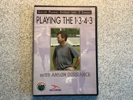 Anson Dorrance Playing the 1-3-4-3 soccer DVD - $12.95