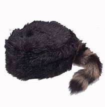 Jacobson Hat Company 14296 (Small 6 7/8) Faux Coonskin Daniel Boone Cap ... - €13,35 EUR
