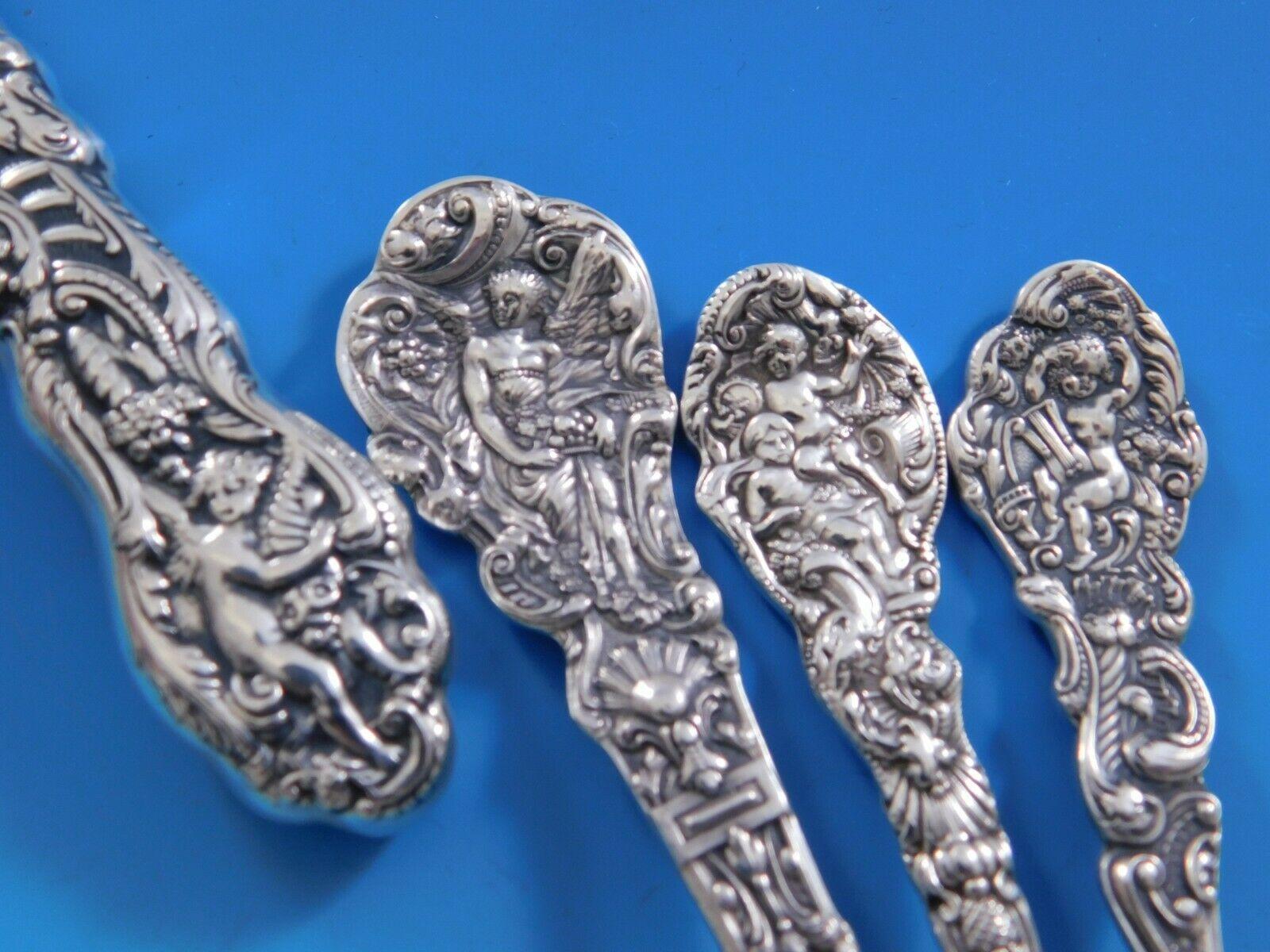 Versailles By Gorham Sterling Silver Serving Spoon Pierced 9 Hole 8 1 2 Custom