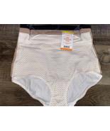 Warner's Womens Brief No Muffin Top Underwear Panties Cotton 3-Pair (C) ... - $23.36