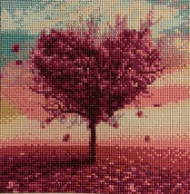 Beautiful 5D Full Drill Heart Tree Complete - $25.00