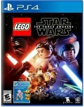 LEGO STAR WARS FORCE AWAKENS PS4 NEW! JEDI, DARTH VADER BATTLE, UNLEASHE... - $21.99