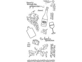 Fiskars Aged to Perfection Clear Stamp Set #01-005509