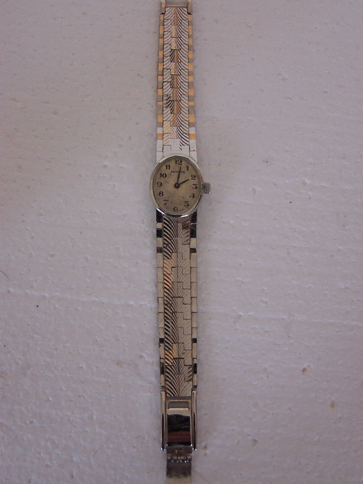Vintage Miyota watch for repair,complete e-100