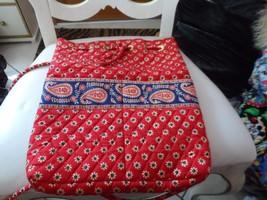 Vera Bradley drawstring backpack in retired Americana pattern - $26.00