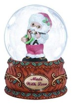 Precious Moments Annual Santa with Rocking Horse Waterball - $20.76