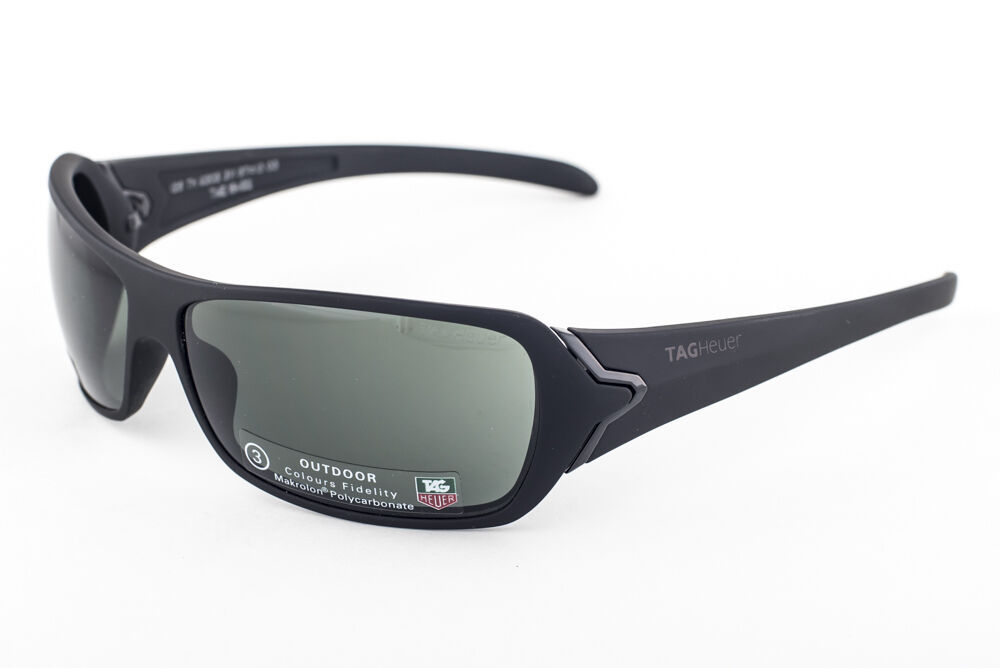 Primary image for Tag Heuer 9202 Racer Black / Green Outdoor Sunglasses 9202 311