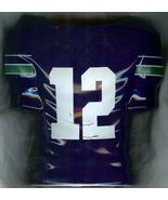 1990 seattle seahawks football jersey flower vase 12th man fans season t... - $99.99