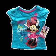 Disney Minnie And Mickey Kids Tshirts (4T, Turquoise) - $5.87