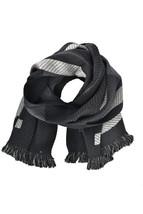 Cedric Charlier Unisex CDA3304 Scarf Warm Black Size OS - $178.79