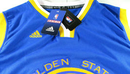 STEPHEN CURRY / AUTOGRAPHED G.S. WARRIORS BLUE SWINGMAN JERSEY / PSA/DNA & JSA image 7