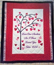 Christian Wall Hanging 12 x 14 Love One Another John 13:34 - $45.00