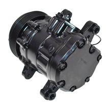 A-Team Performance HC5005C A/C Compressor Sanden SD-7 Type Aluminum Black image 5