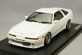 Ignition Model IG1737 1/18 Toyota Supra 3.0GT Turbo A MA70 Pearl White BBS RS - $412.26