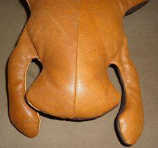 MUNDI Leather Frog Animal Reptile Plush DecorHand Crafted BRAZIL VTG ESTATE RARE image 11