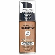 Revlon ColorStay Liquid Foundation For Normal/dry Skin, SPF 20, Natural ... - $8.40