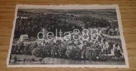 1940's WW II ERA Authentic Postcard Esneux Panorama View Belgium - $6.95
