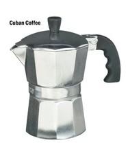 IMUSA 3-Cup Aluminum Espresso Coffee Stovetop Coffeemaker Moka Pot Maker... - $8.99