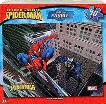 Marvel Spider Sense Spider-Man Lenticular Puzzle 48 Piece - $23.70
