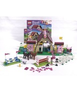 LEGO 3189 Friends Heartlake Stables Complete W/ Manuals Retired 1 Access... - $53.89
