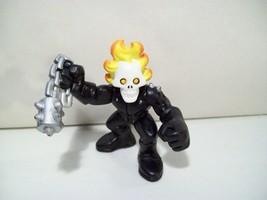 Marvel Playskool Super Hero Squad Ghost Rider Action Figure Hasbro 2006 - $9.75