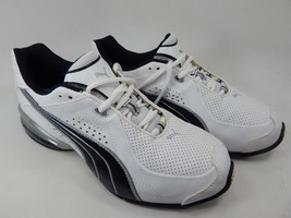 Puma Cell 185616 01 Size US 8 M (D) EU 40.5 Men's Running Shoes White Black