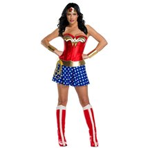 Halloween Women's Wonder Woman Plus Size Deluxe Adult Costume - £84.59 GBP+