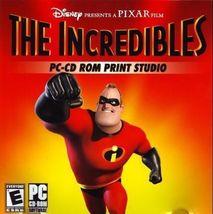 The Incredibles PC-CD ROM Print Studio by Pixar (2006, CD-ROM) - $7.95