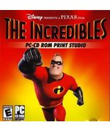 The Incredibles PC-CD ROM Print Studio by Pixar (2006, CD-ROM) - $7.95