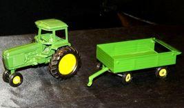 Ertl John Deere replica die-cast tractor with wagon AA19-1639 Vintage image 11
