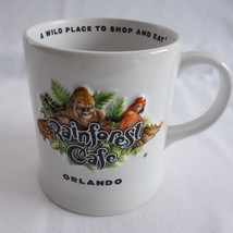 Rainforest Cafe 10 Wild Years Orlando A Wild Place to Shop and Eat Coffe... - $16.44