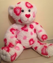 Build A Bear Valentines Day Bear Hearts Pink Red White Be My Valentine - $15.88