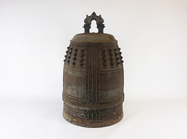 Tsurigane, Antique Japanese Temple Bell - YO23010097 - $2,690.43