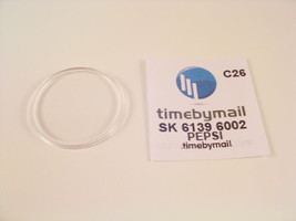 Watch Crystal For SEIKO PEPSI 6139 6002 Plexi-Glass Replacement New Part... - $22.32