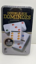 FACTORY SEALED - Double Six Dominoes Cardinal Game Set - (28 Color Dots) (9510C) - $4.93