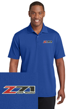 CHEVY Z71 Royal Blue Embroidered Polo Sport Golf Shirt Polyester Dry-Fit - $24.99