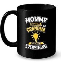 Grandma Mommy Coffee Tea Drink Funny Cute Ceramic Mug Cup 11OZ Gift Chri... - $13.09
