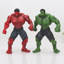 """Red/ Blue Hulk Action Figure The Avengers PVC Collectible Model Toy 10"""" 25cm - $36.50+"""