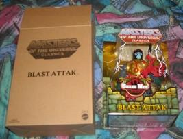 Blast Attak MOTUC Masters of the Universe Classics MOSC MOC He-Man Skele... - $30.00