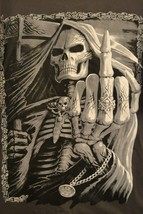 Daytona Beach 74th Annual Bike Week T-Shirt 2015 Motorcycle Skeleton XL ... - $19.31