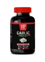 garlic capsules - ODORLESS GARLIC & PARSLEY 600mg - hypertension relief 1B - $14.92