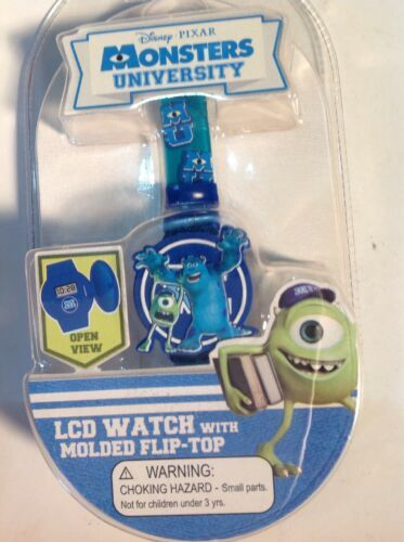 Primary image for Monster University Disney Pixar Wrist  Watch Mike Wazowski Rare Unopened New